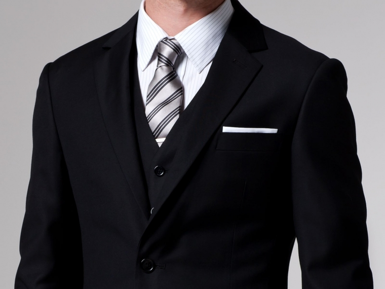 The Essential Black 3 Piece Suit