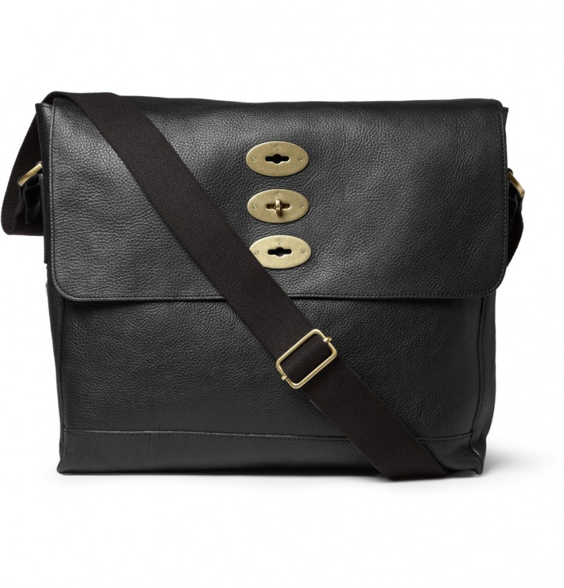 Brynmore Leather Messenger Bag